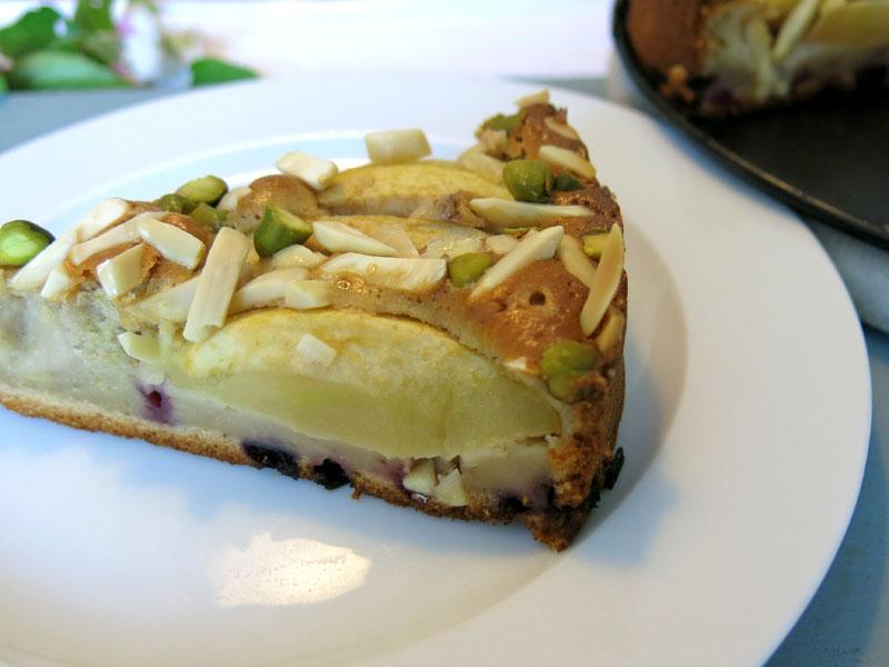 Apfelkuchen mit beeren joghurt und honig wtf ivi for Kuchen frankfurt