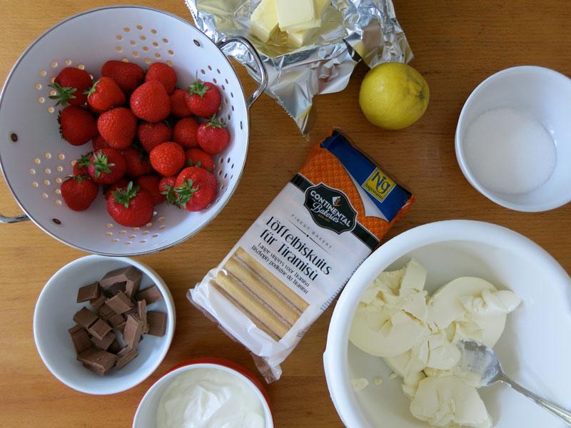 frischk se torte mit erdbeeren und schokolade wtf ivi frankfurt und lifestyle blog. Black Bedroom Furniture Sets. Home Design Ideas