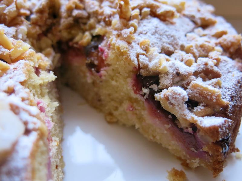 Pflaumenkuchen-karamelisierte-Mandeln