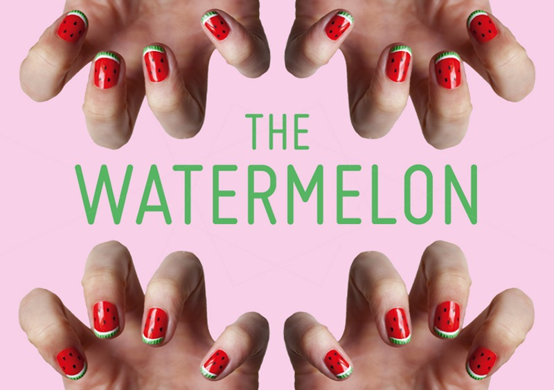 Kester-Black-Tutorial-watermelon-nails