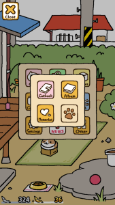 Neko Atsume Menu Cats
