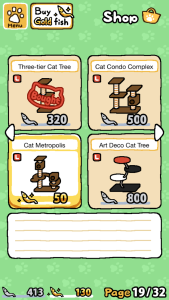 Neko Atsume Shop