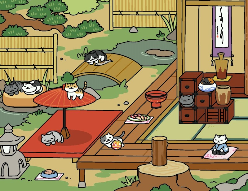 Neko Atsume – The Kitty Collector