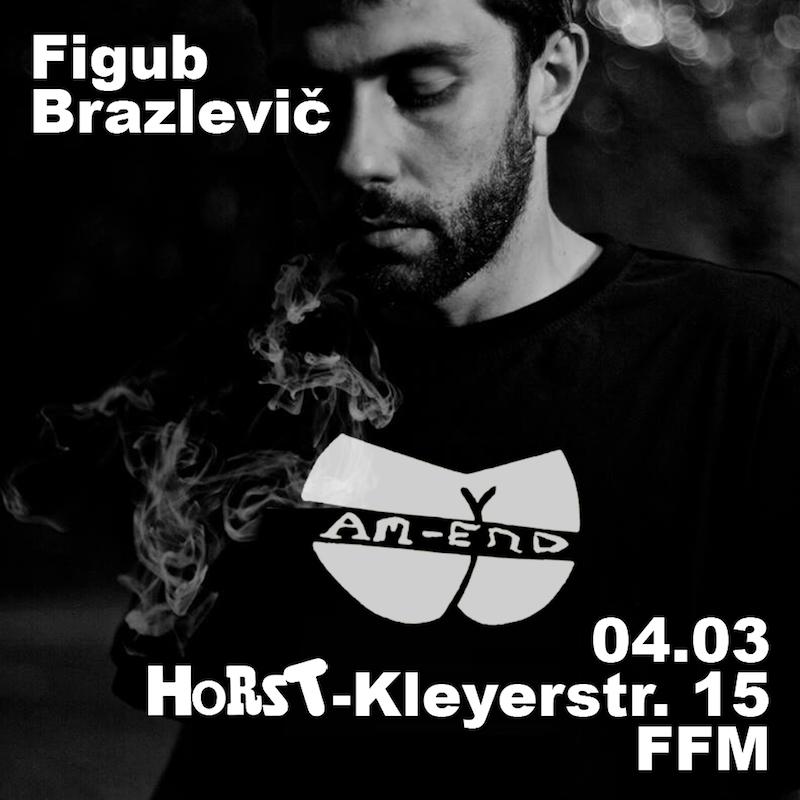 Figub Brazlevic in Frankfurt am 04.03.2016