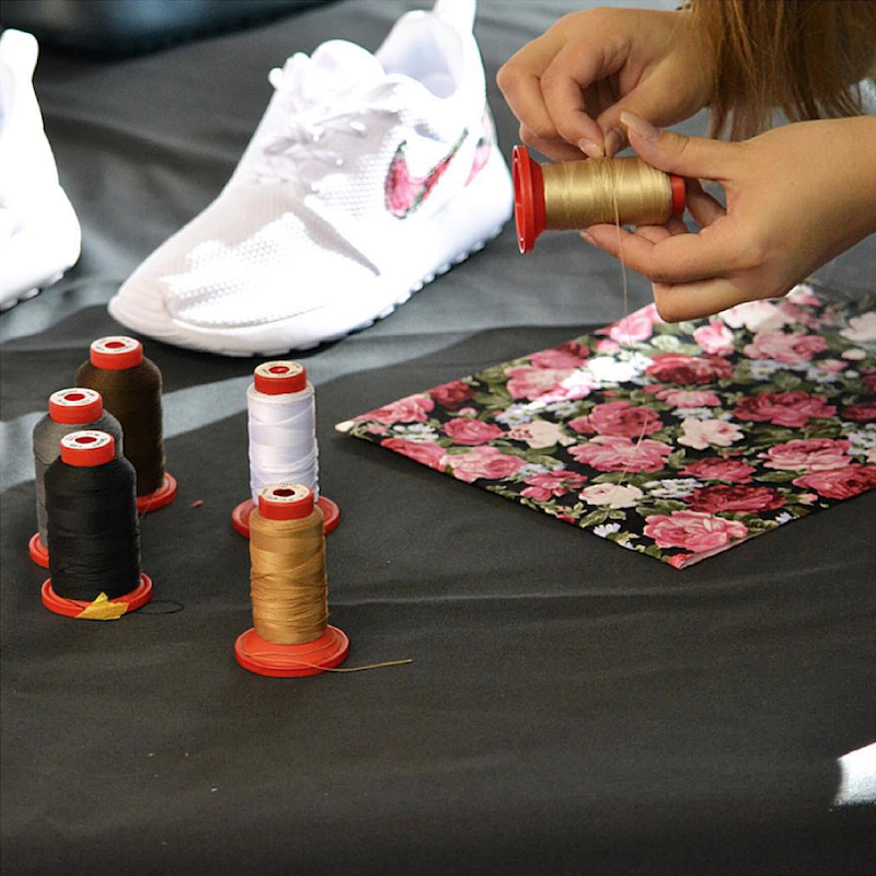 sneaker atelier hamburg rosherun stoff wtf ivi frankfurt und lifestyle blog. Black Bedroom Furniture Sets. Home Design Ideas