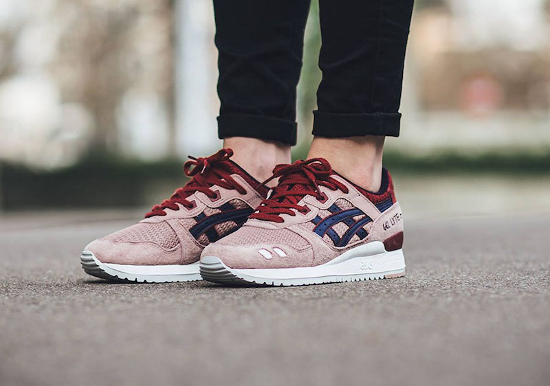 Asics Gel Lyte III – Adobe Rose