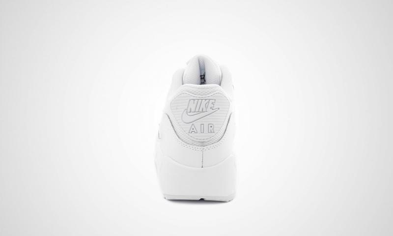 weisse sneaker nike air max 90 mesh gs 03 wtf ivi. Black Bedroom Furniture Sets. Home Design Ideas