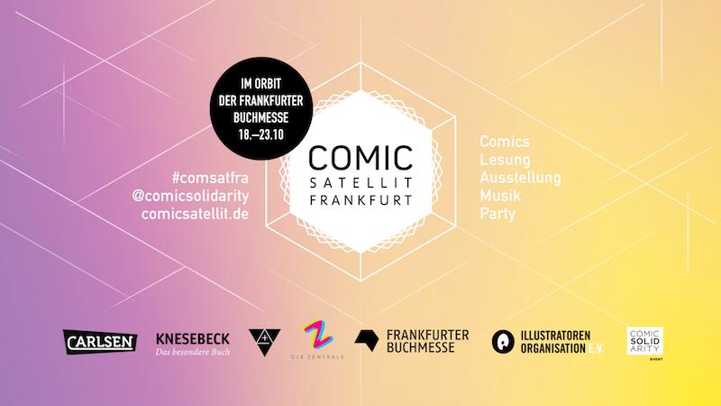 Frankfurt Tipps Wochenende comic satellit