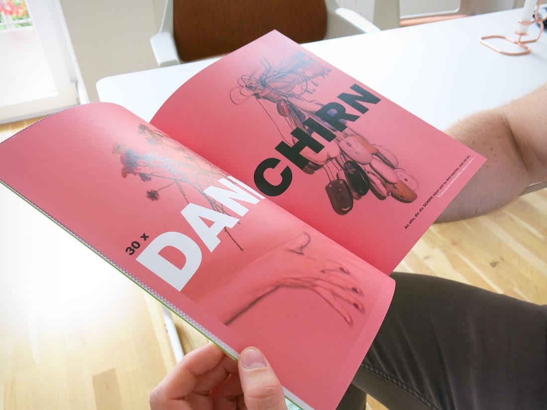 Studio 069 Design. Jubiläumsausgabe Schirn Magazin.