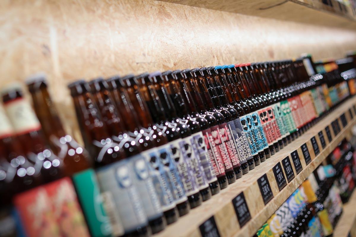 Von Pale Ale über Weizen und Pils bis Sauerbier und Lager - in der Bierothek Frankfurt gibt es alles