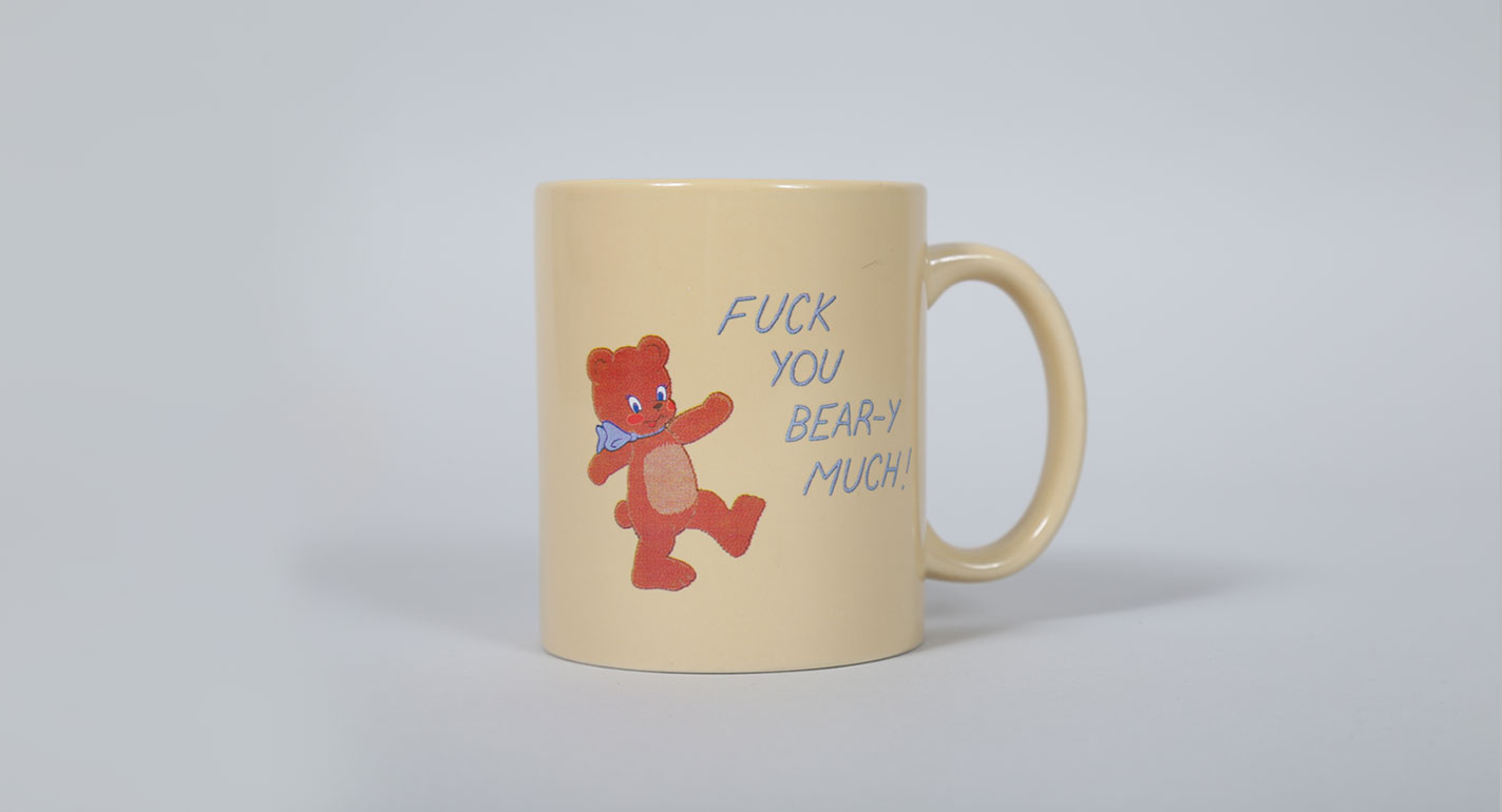 Teddy Bear Mug von © Lazy Oaf