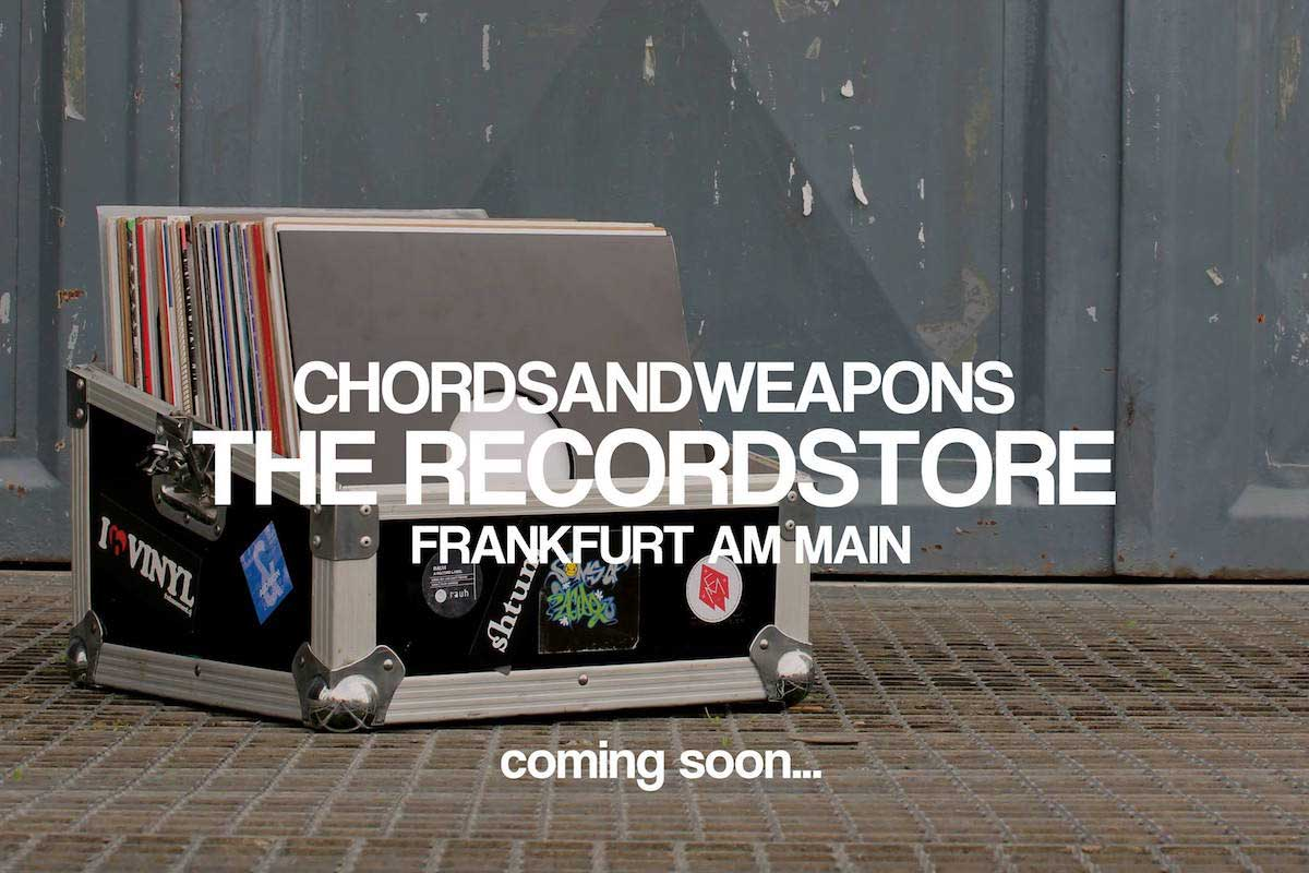 chordsandweapons Record Store Frankfurt