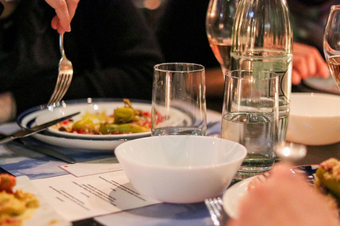 Lovely Dinner im Schirn Café