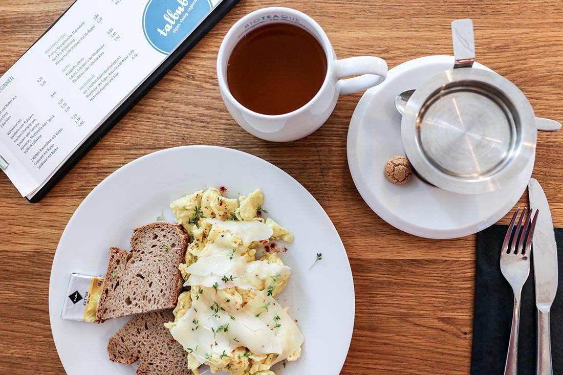 Frühstücken im Gallus