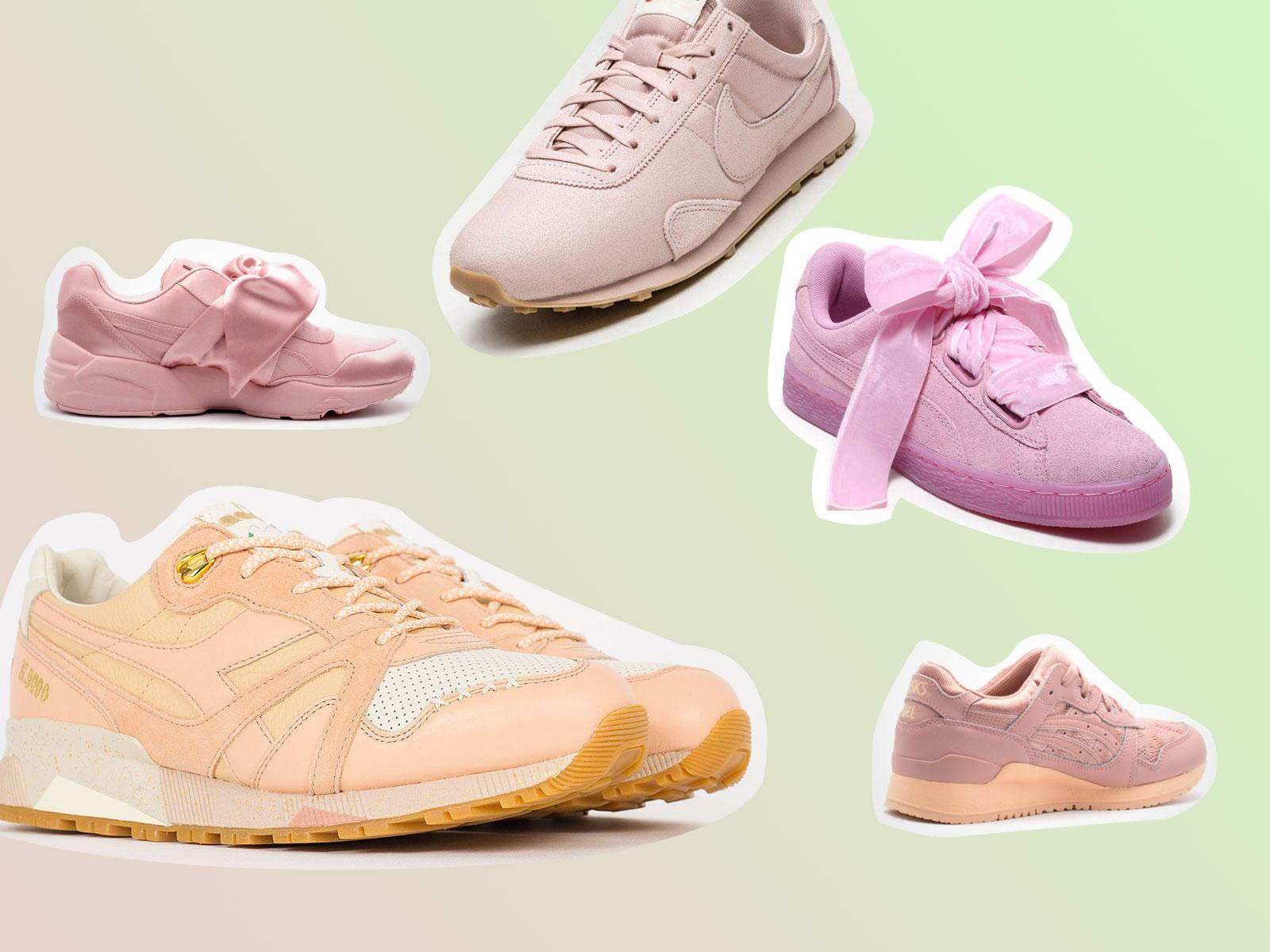 Rosa Sneaker - Spring Vibes