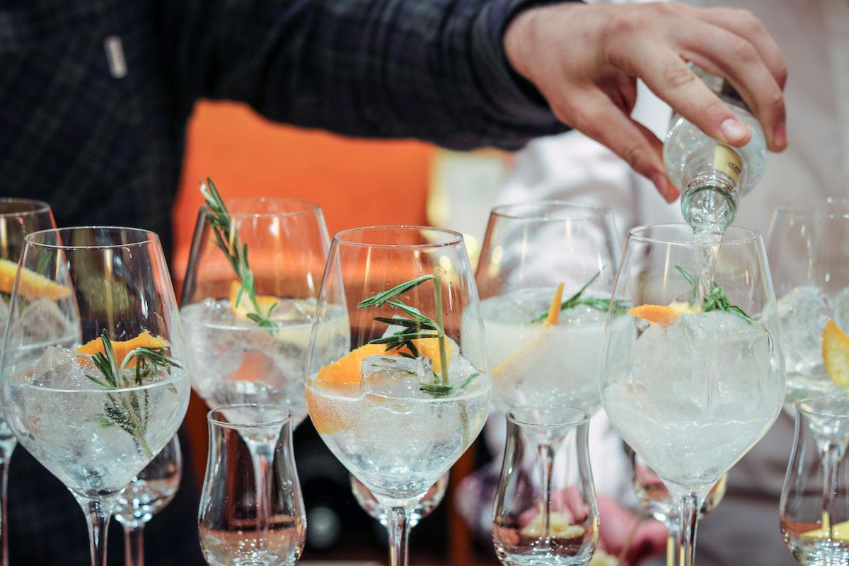 GIN SUL Tasting bei Weinteufel Frankfurt