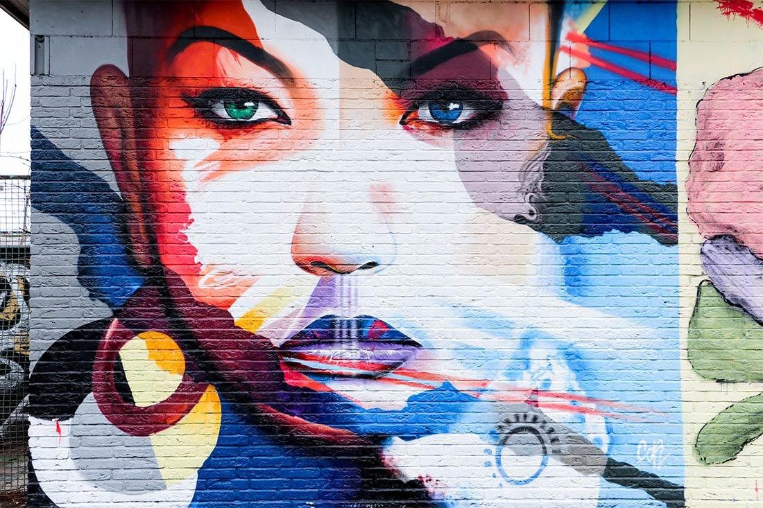 Street Art Frankfurt Ostbahnhof
