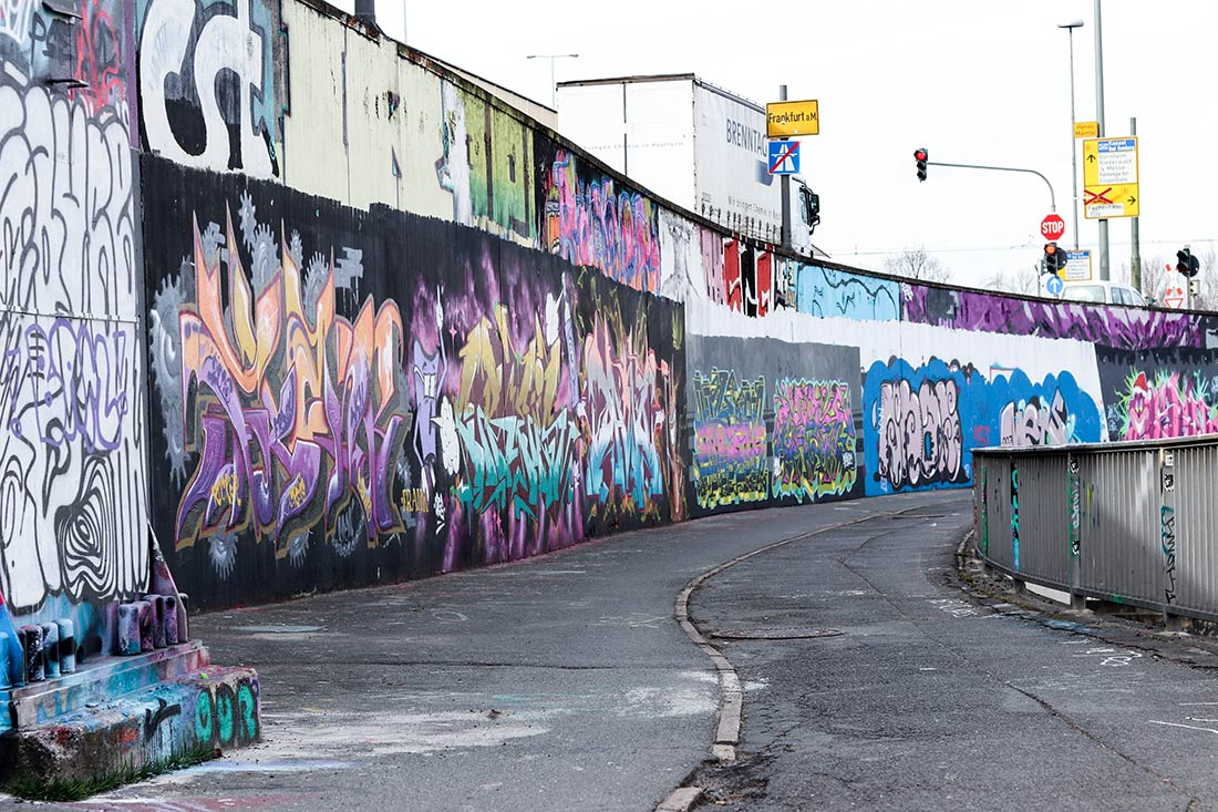 Street Art Frankfurt Ratswegkreisel