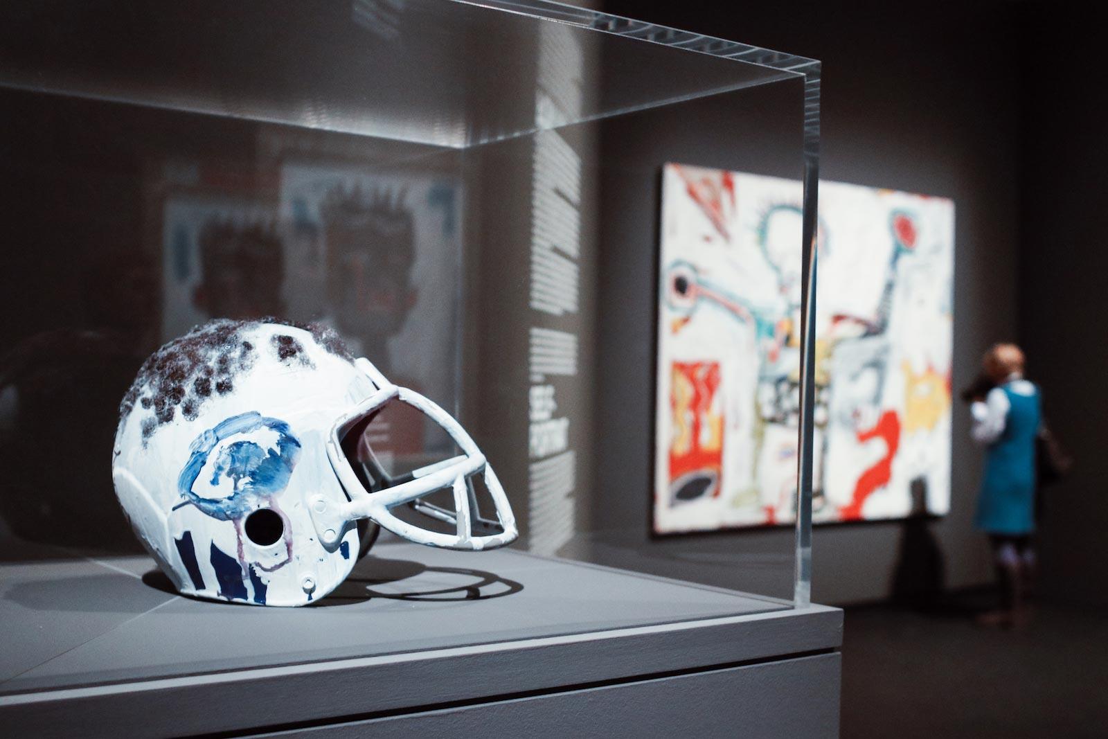 Mini Kühlschrank Bei Real : Basquiat ausstellung in frankfurt in der schirn boom for real