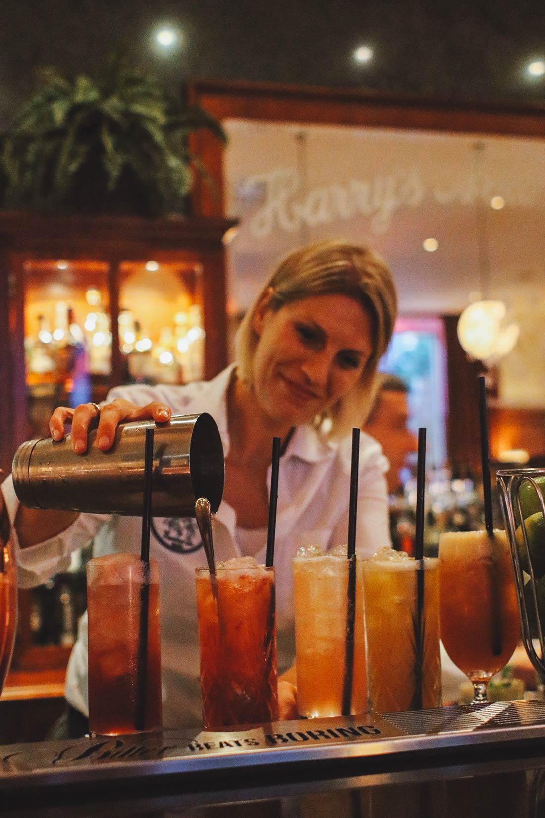 Barchefin Rike Saridakis bei der Arbeit