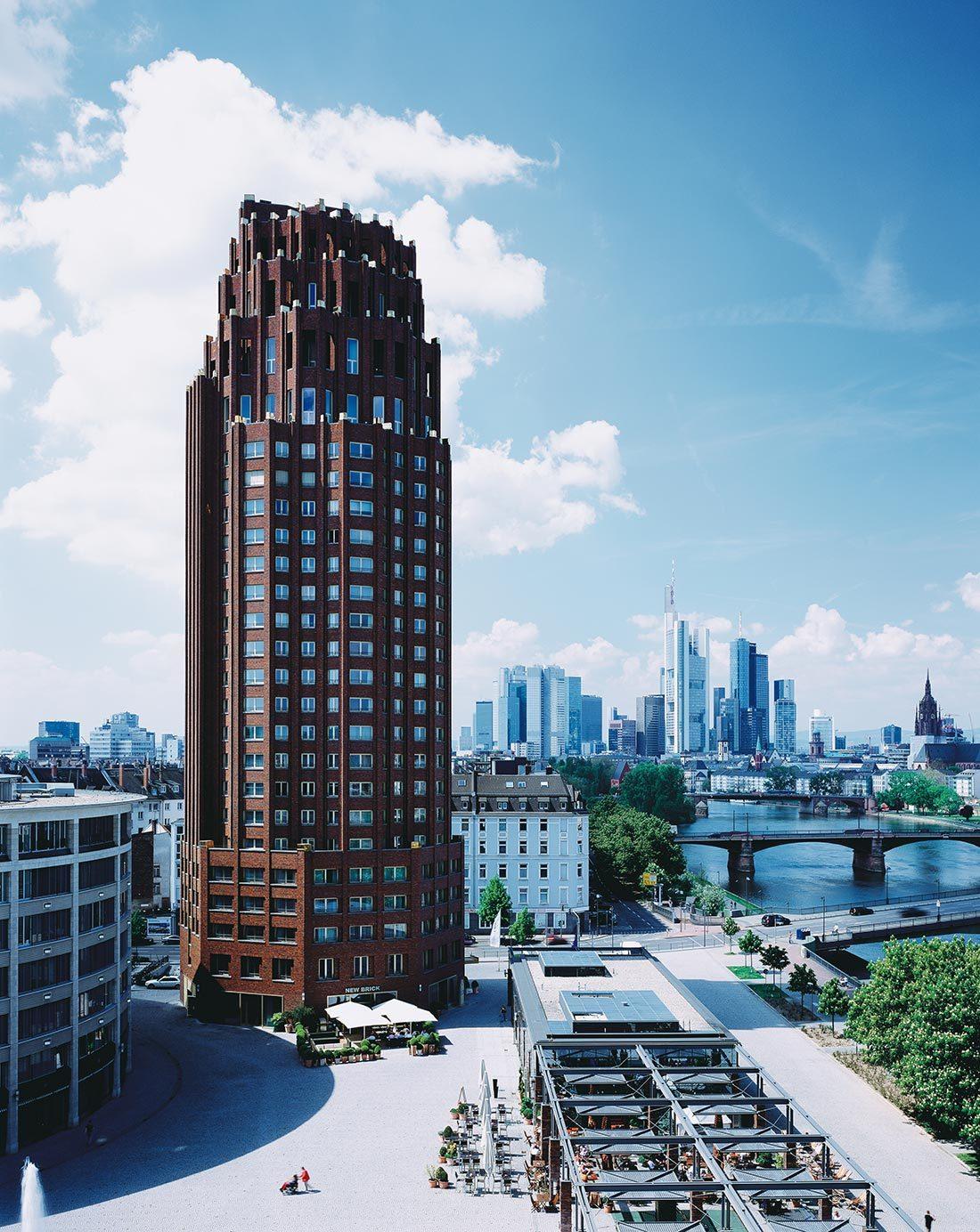 Das Lindner Hotel & Residence Main Plaza in Frankfurt