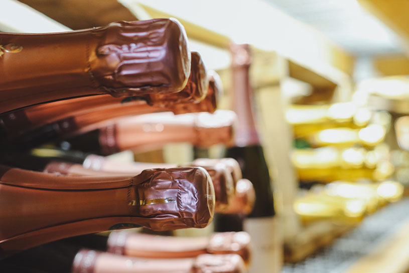 Weinverkostung in der Reblaus