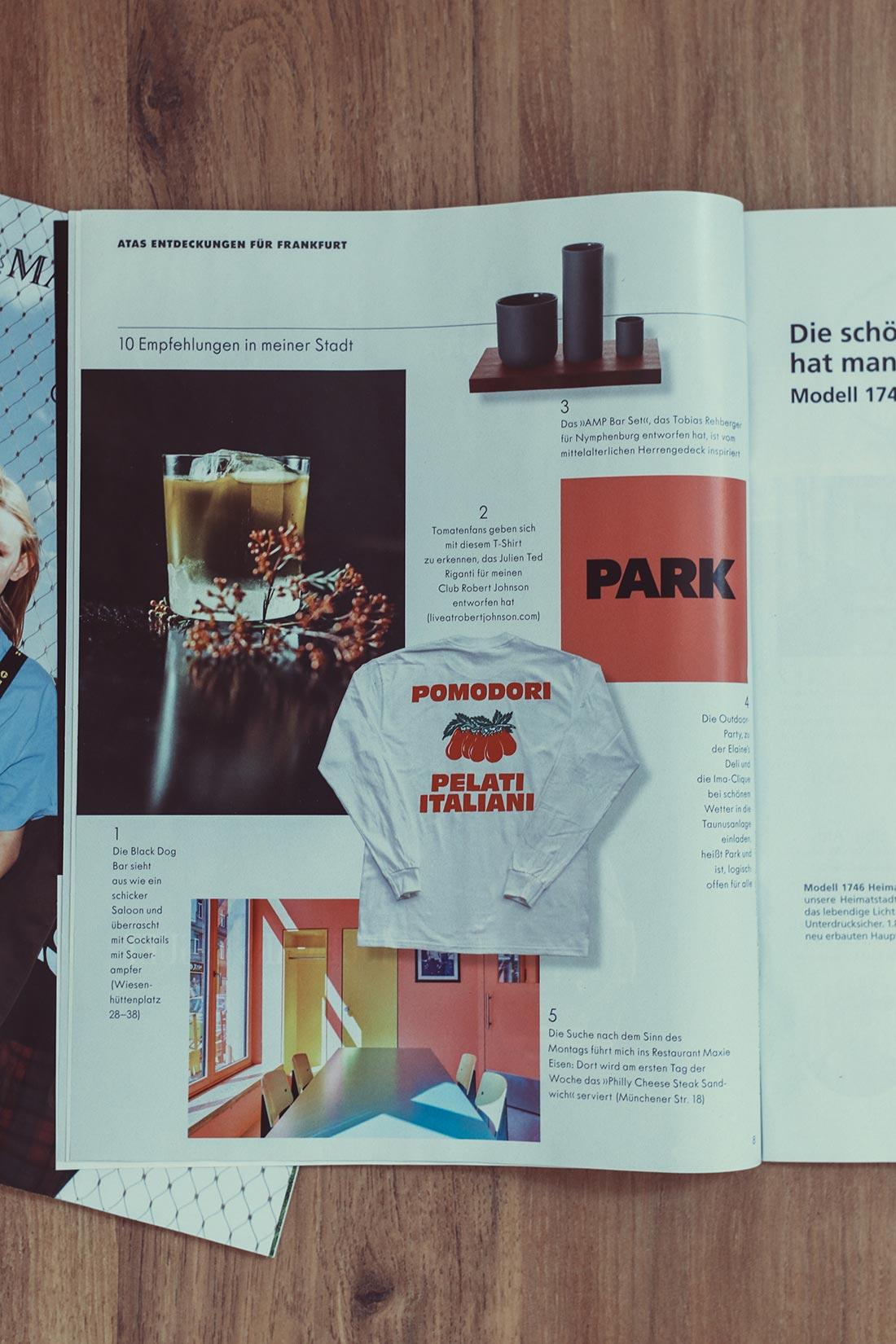 ZEITmagazin Lokalausgabe Frankfurt