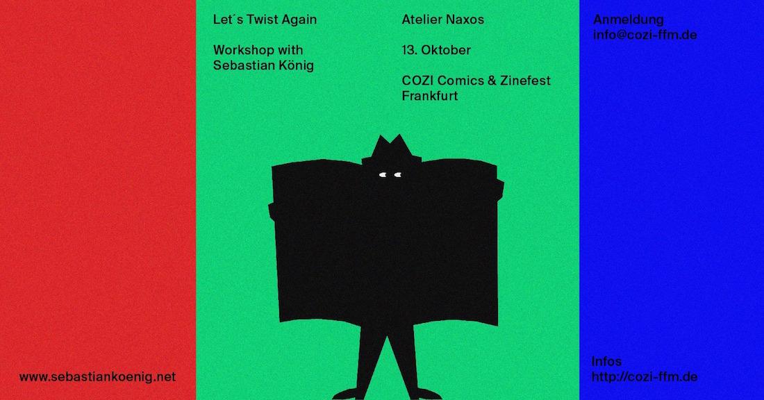 COZI Comic und Zinefest Frankfurt 2018