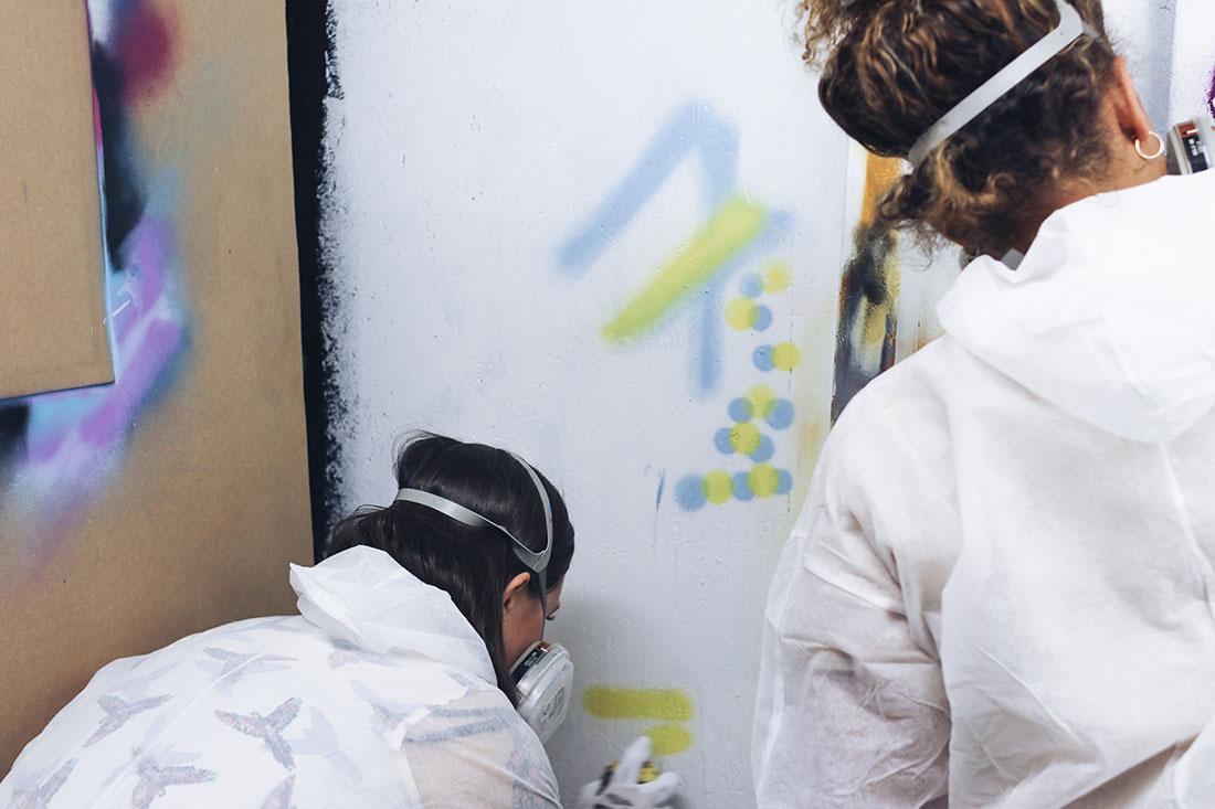Graffiti Workshop in Frankfurt