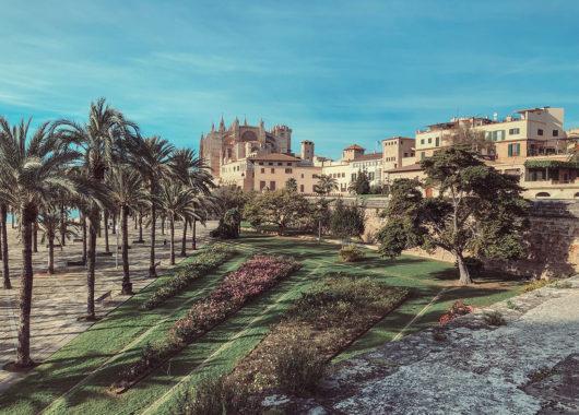 Winter in Palma de Mallorca