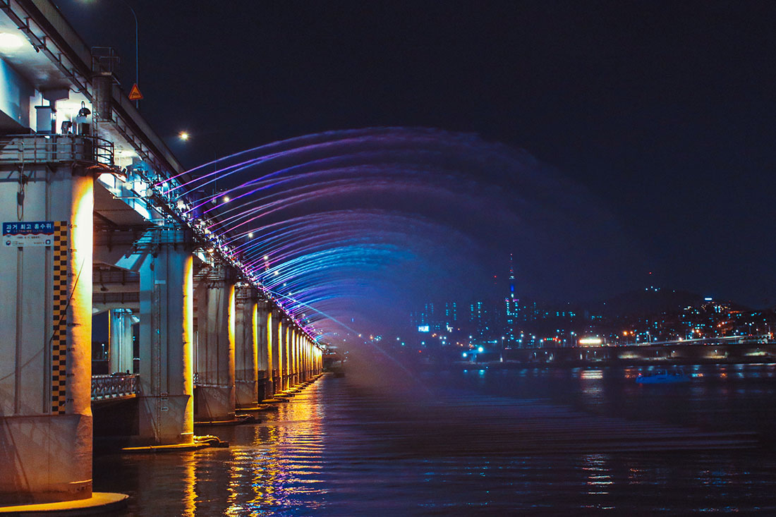 Die Banpo Rainbow Bridge