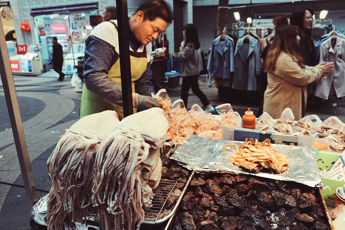 Streetfood in Myeongdong