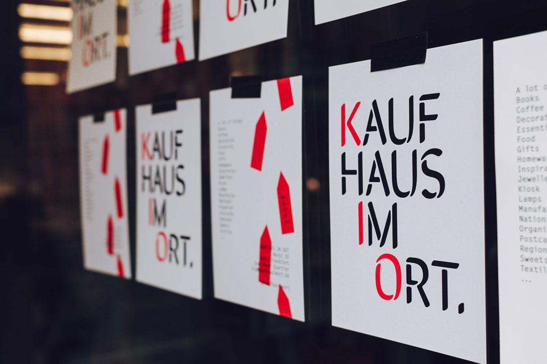 Kaufhaus im Ort neue Altstadt Frankfurt