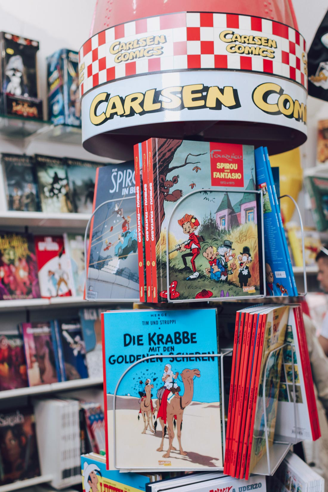 Comic Laden Frankfurt