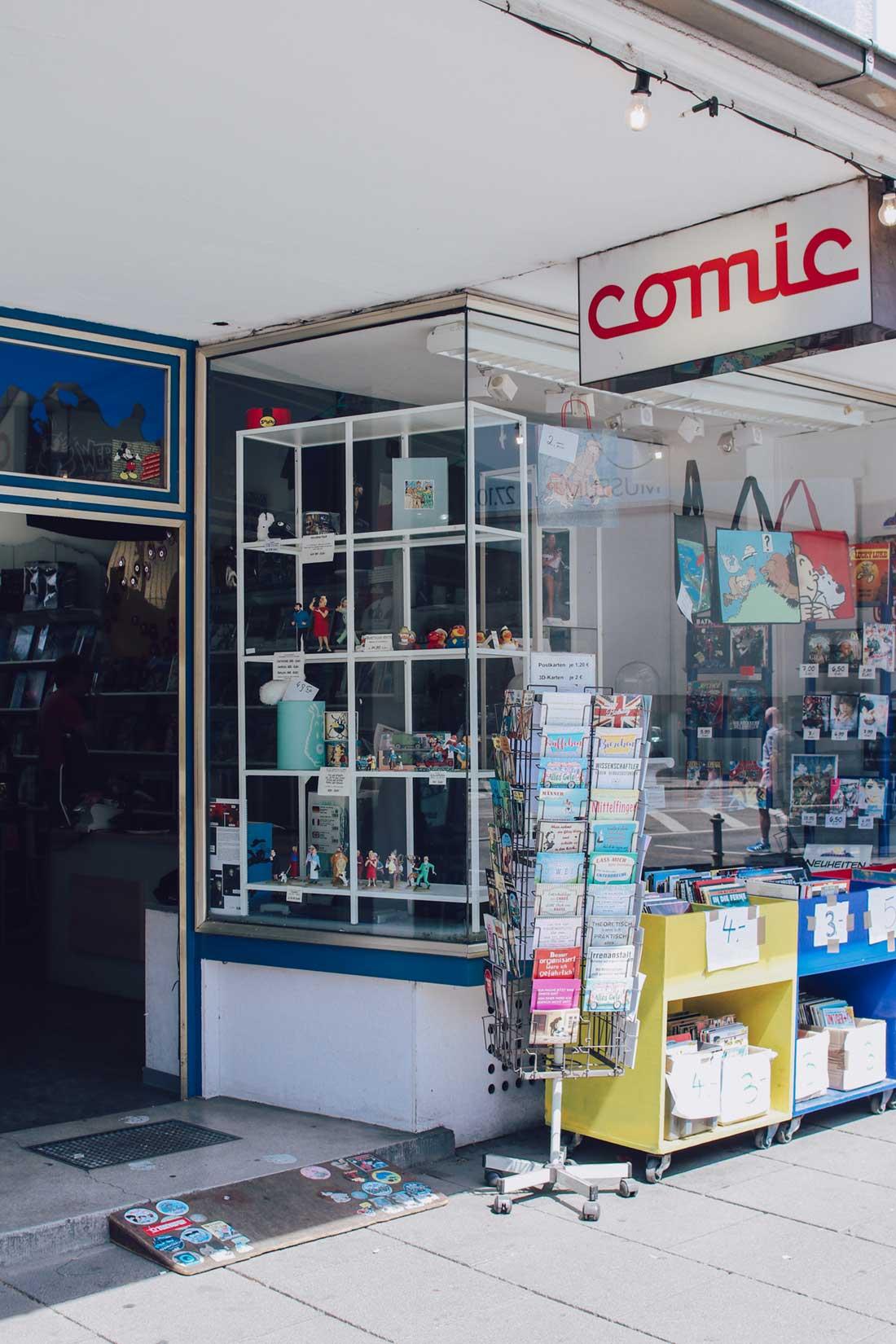 Comic Laden Frankfurt