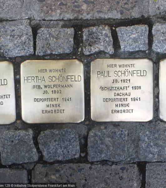 Stolpersteine in Frankfurt