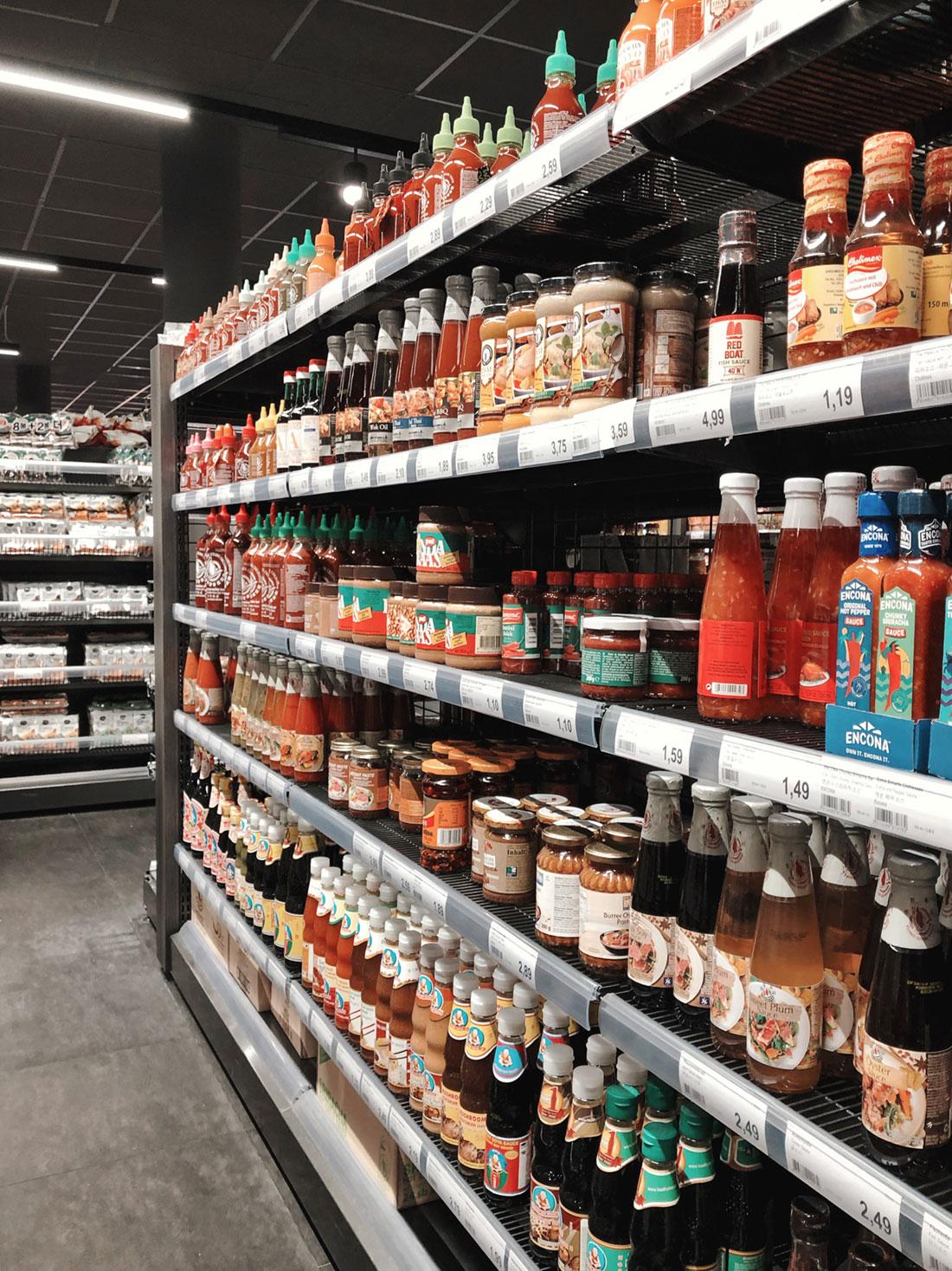 Y-Mart Frankfurt - Ein moderner koreanischer Supermarkt